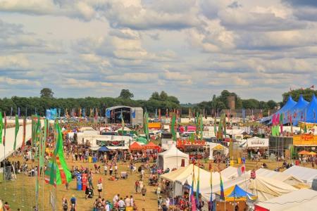 Womad festival slikan iz Ferris wheela